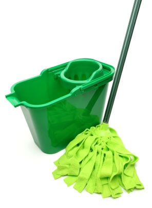 Green cleaning in Oakland CA by Russell Janitorial LLC