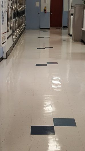 Before & After Floor Stripping in San Pablo, CA (2)